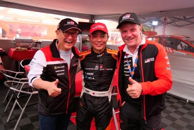 Takamoto Katsuta dará el salto al WRC con Toyota - SoyMotor.com