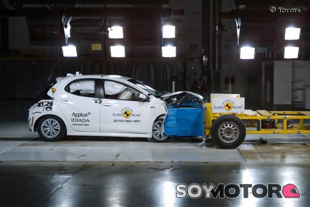 Pruebas EuroNCAP del nuevo Toyota Yaris - SoyMotor.com