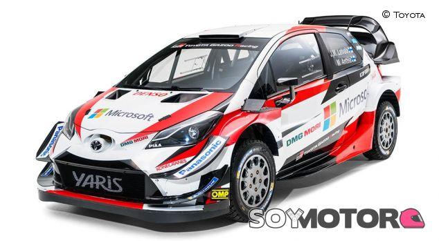 Toyota Yaris WRC 2018 - SoyMotor
