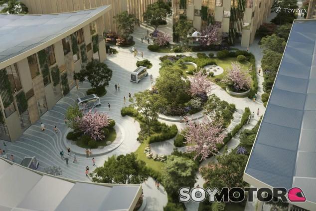 Toyota: la ciudad del futuro, conectada y alimentada de hidrógeno - SoyMotor.com
