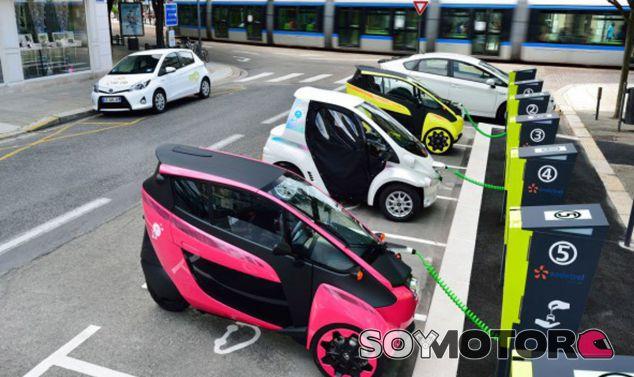 Estación de recarga y alquiler del proyecto Ha:Mo de Toyota - SoyMotor