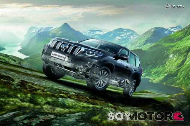 Toyota Land Cruiser 2021: nuevo motor y más equipamiento - SoyMotor.com