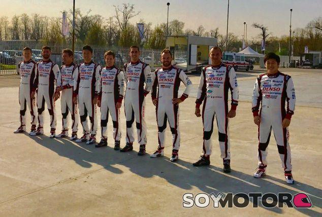 Los pilotos de Toyota para 2017 (©Anthony Davidson) – SoyMotor