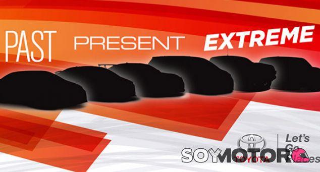Cartel de Toyota para el SEMA 2016 - SoyMotor.com