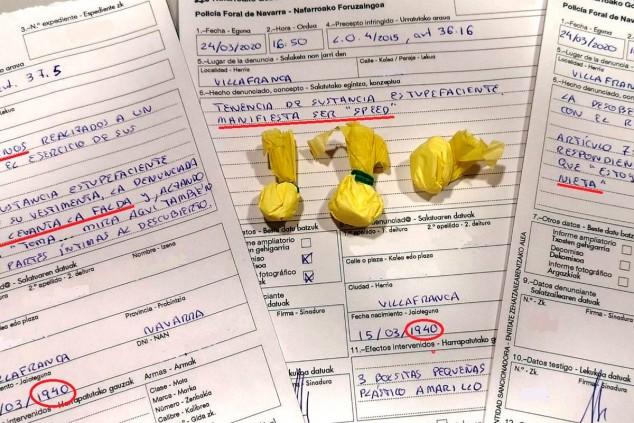 Denuncias presentadas por la Policía Foral de Navarra - SoyMotor.com