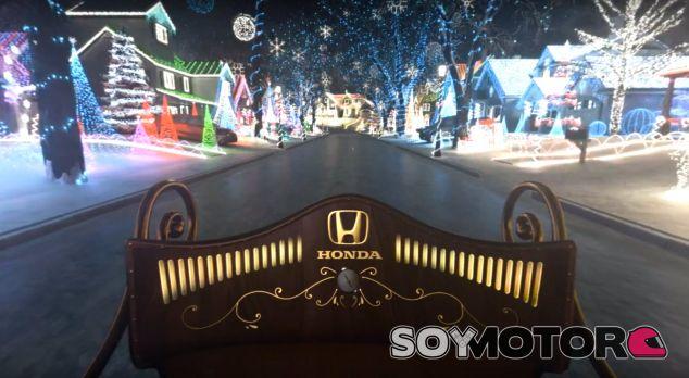 Honda ha querido trasladar el espíritu de la Navidad con esta pequeña acción digital - SoyMotor