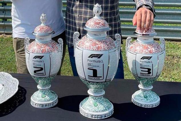 Así son los trofeos del GP de Hungría F1 2021: porcelana local - SoyMotor.com