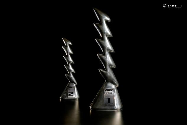 Un rayo inspira el diseño de los trofeos de Imola - SoyMotor.com