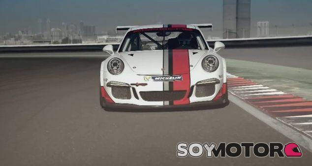Mark Webber a los mandos del Porsche 911 RSR GT3 Cup - SoyMotor