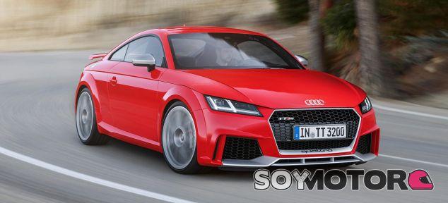 La estética del Audi TT RS gana enteros en esta rapidísima versión -Soymotor