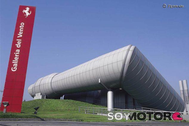 El túnel de viento de Ferrari en una imagen de archivo - LaF1