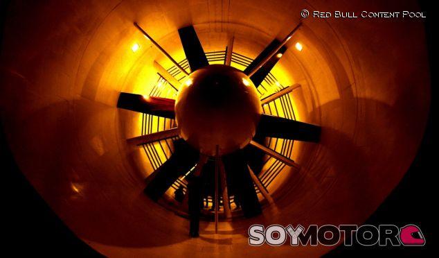 Túnel de viento de Red Bull