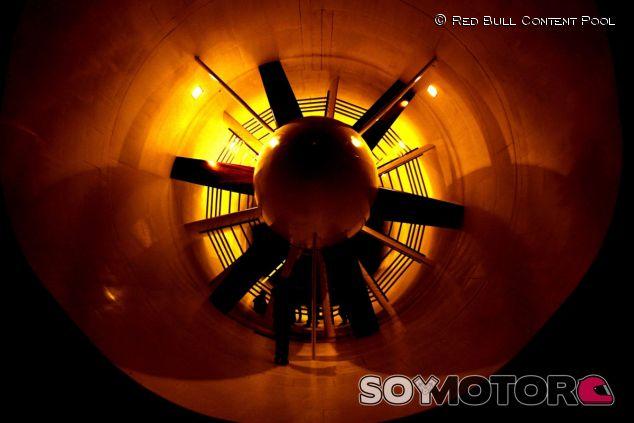 Túnel de viento de Red Bull - LaF1