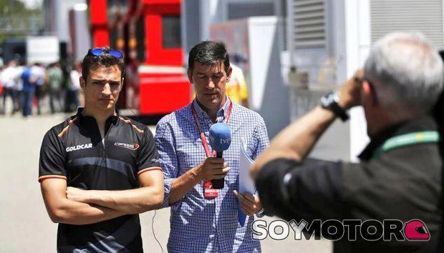 La 1 de Televisión Española en el GP de España 2016, con Alex Palou - SoyMotor