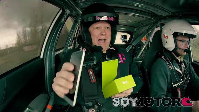 unboxing lg g5 subaru impreza sti rally -SOyMotor