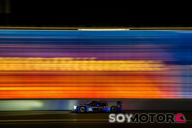 El coche de Fernando Alonso y Lando Norris en Daytona– SoyMotor.com