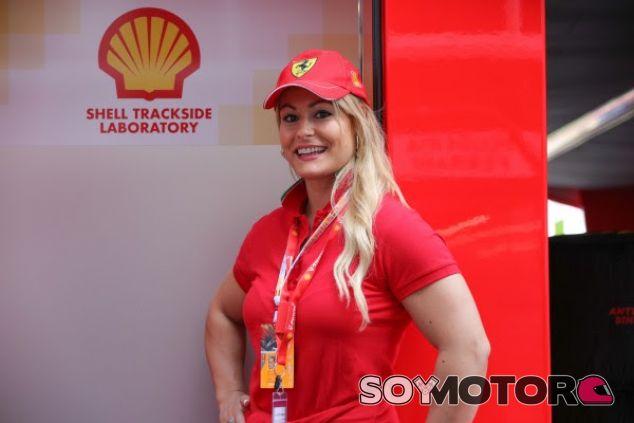 Lydia Valentín, también protagonista en el Circuit - SoyMotor.com