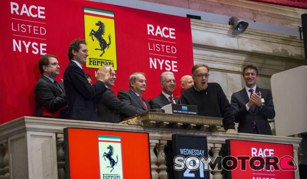 Ferrari ha comenzado con una tendencia positiva en la Bolsa de Nueva York - SoyMotor