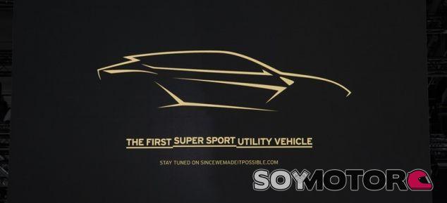 Teaser Lamborghini Urus - SoyMotor.com