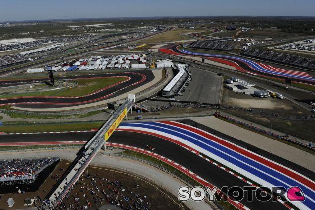Imagen aérea del Circuito de las Américas - LaF1.es