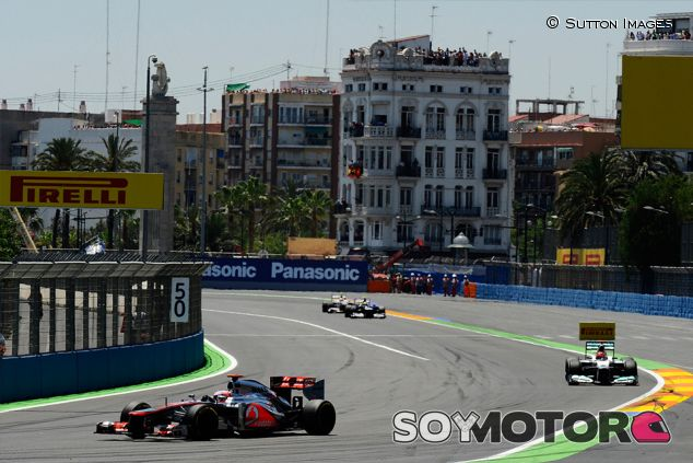 Jenson Button en Valencia - SoyMotor.com