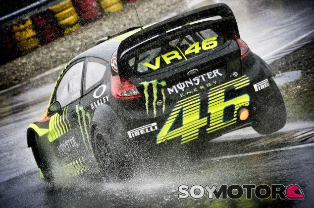Valentino Rossi en el pasado Monza Rally Show - SoyMotor.com