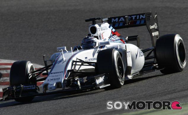 Valtteri Bottas en Montmeló - LaF1
