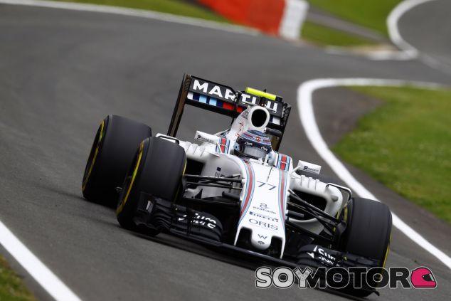 Valtteri Bottas durante la carrera en Silverstone - LaF1