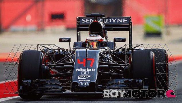 Vandoorne, durante unos test esta temporada - SoyMotor