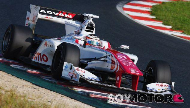 Vandoorne durante una prueba de la Super Formula japonesa esta temporada - SoyMotor