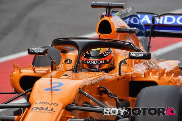Stoffel Vandoorne durante los test post-GP de España en Barcelona - SoyMotor.com