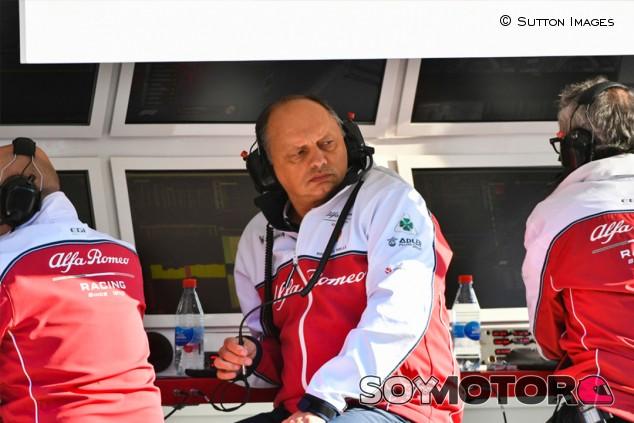 """Vasseur: """"Vamos a anunciar nuestra alineación muy pronto"""" - SoyMotor.com"""