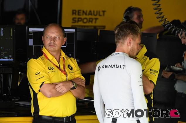 Vasseur solo estuvo en Renault en 2016 - SoyMotor.com