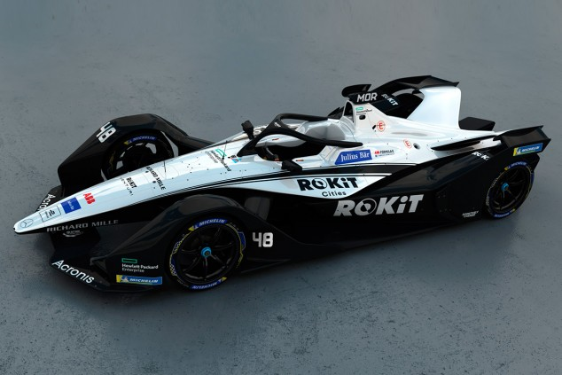 Venturi revela la decoración de su coche para la séptima temporada de Fórmula E