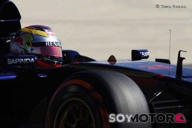 Jean-Éric Vergne en los tests de Baréin - LaF12