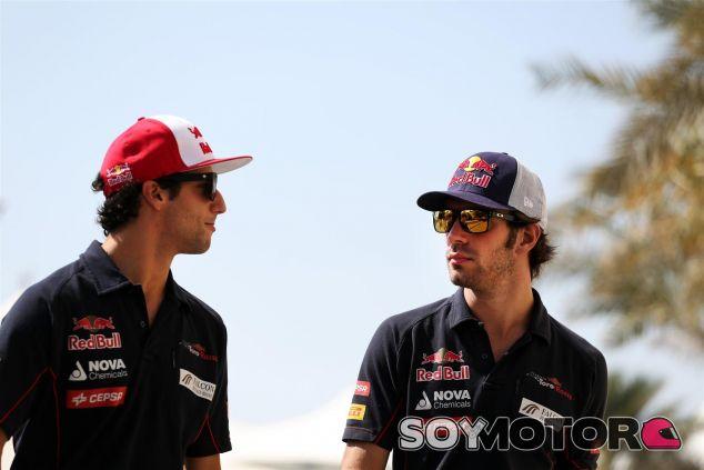 Ricciardo y Vergne en Toro Rosso - LaF1.es