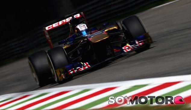 Toro Rosso en el GP de Italia F1 2014: Previo