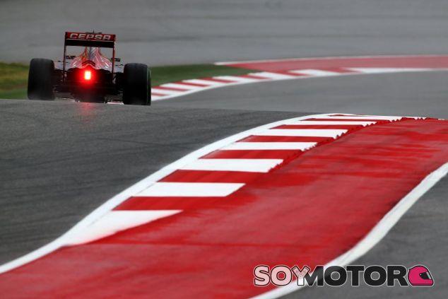Verstappen lamenta el poco tiempo que pudo rodar en Austin, aunque está contento con el STR10 - LaF1