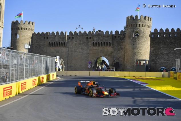 Red Bull en el GP de Azerbaiyán F1 2019: Viernes - SoyMotor.com