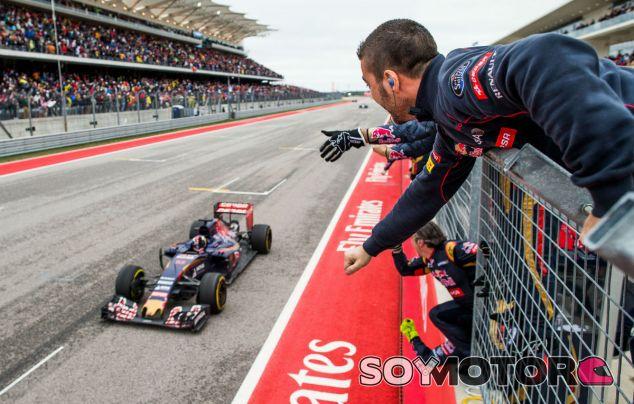 Max Verstappen fue cuarto en el GP de Estados Unidos - LaF1