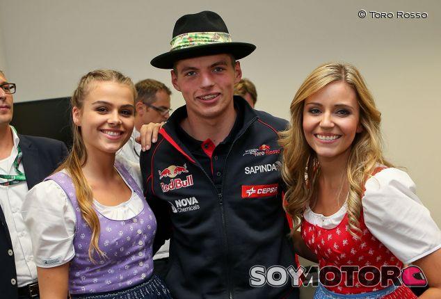Max Verstappen en un acto promocional del Gran Premio de Austria - LaF1