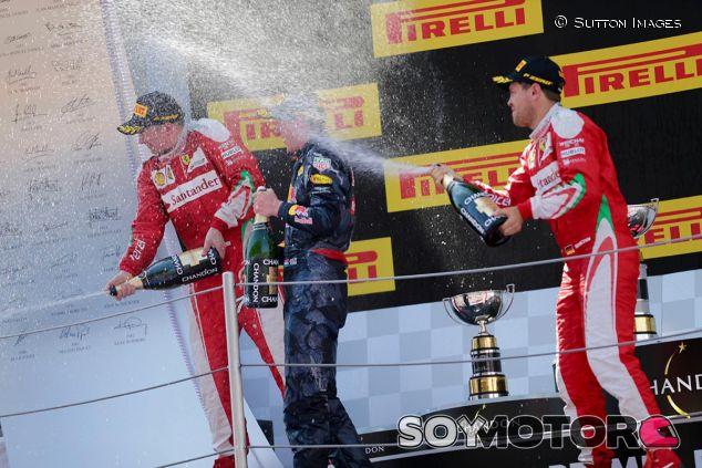 Podio del GP de España - SoyMotor
