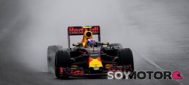 Verstappen durante el GP de Brasil - LaF1