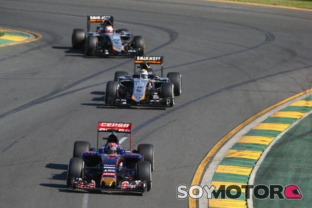 Verstappen por delante de los Force India, el objetivo de Toro Rosso en 2015 - LaF1