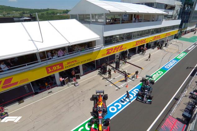 Verstappen y Hamilton se reencuentran en el Pit-Lane de Hungría - SoyMotor.com