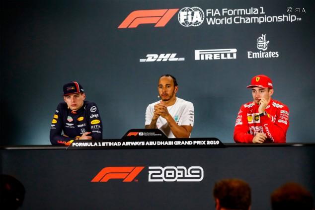 GP de Abu Dabi F1 2019: rueda de prensa del domingo - SoyMotor.com