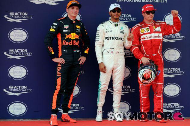 Verstappen, Hamilton y Räikkönen tras la clasificación de Sepang - SoyMotor.com