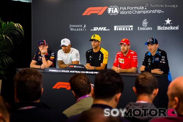 GP de Australia F1 2019: Rueda de prensa del jueves - SoyMotor.com