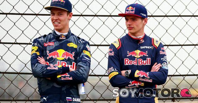 Red Bull estudia sustituir a Kvyat por Verstappen en el GP de España - LaF1.es