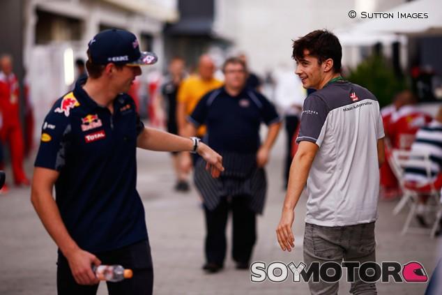 """Verstappen: """"Leclerc y yo vamos a ser los Hamilton y Vettel del futuro"""""""